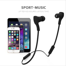 Wholesale Bluetooth Earbuds Microphone - H06 Magnet Bluetooth Earphone Wireless Sport Running Bluetooth Headset Bass Earbuds Headphone With Microphone for phone