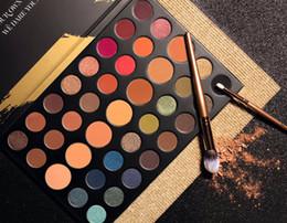 Wholesale Eyeshadow Platte - Hot sales HOLIDAY DARE TO CREATE Eyeshadow Platte 39A Eyeshadow Palette 39 Colors Christmas Eye shadow Powder Palette DHL