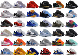Wholesale Kd Easter Basketball Shoes - KD 10 Oreo Still KD Anniversary Black Green Basketball Shoes Sneakers KD10 Men Shoes Sport Kevin Durant 10 Trainers 8-13