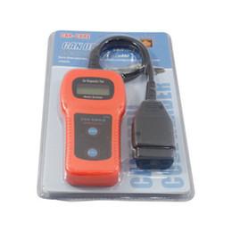 chave de carro chevrolet chip Desconto Livre DHL U480 OBD2 OBDII LCD Car Leitor de Auto Diagnóstico Scanner de Código de Falha Leitor de Digitalização Novo (DY)