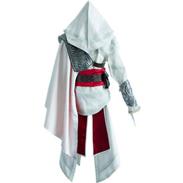 Wholesale Assassins Creed Ezio Cosplay - Costumes Accessories Cosplay Costumes Ezio Auditore da Firenze Cosplay Assassins Creed Discovery Brotherhood And Revelations Uwowo Costume