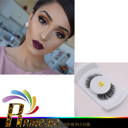 Wholesale Eyelashes Extension Color - Brand mink False Eyelashes Handmade Natural Long Curl Thick Fake Eye Lash Extensions Black Color Eyelash Makeup High Quality Lash Designs