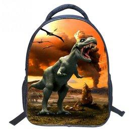 Wholesale Backbag Child - Designer Large 3D Dinosaur School Backpacks for Children Tourism Bag Women Leopard Backbag Fashion Animal Backpack