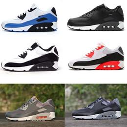 Wholesale Cheap 45 - Hot Sale Air Cushion 90 Running Shoes Men Air 90 High Quality New Sneakers Cheap Sports Shoe Size 36-45