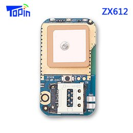 Wholesale Car Tracking Alarms - ZX612 PCBA Mini Hidden GPS Tracker MTK6261D U-blox 7020 Module Locator SMS Positioning SOS Alarm Web APP Tracking for Kids Children Pets Car