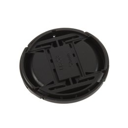 Wholesale Center Filter - New 58mm Center Pinch Snap on Front Lens Filter Cover Cap With Cord For Canon