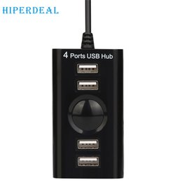 Wholesale Tablet Pc For Sale - Wholesale- HIPERDEAL Advanced USB 2.0 High Speed 4 Port Splitter Hub Adapter For PC Computer Laptop 2017 hot sales tablets 1PC