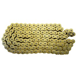 Wholesale Yamaha Chain - Wholesale- Motorcycle Parts 428 * 136 Drive Chain 428 Pitch Heavy Duty Gold O-Ring Chain 136 Links For YAMAHA DT125 1980-1985