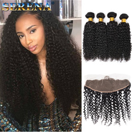 Wholesale Cheap Malaysian Hair For Sale - Peruvian Lace Frontal Closure Kinky Curly 13x4 Best Custom Made Lace Frontals For Sale Cheap Brazilian Frontal Lace Closure Malaysian hair