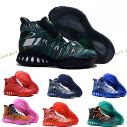 Wholesale Crazy Leather Shoes - Andrew Wiggins Crazy Explosive Boost Basketball Shoes J Wall 3 Boots Man Primeknit Design Crazy Explosive PE AW Crazylight Boost 40-46