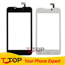 Wholesale Iq Iphone - Wholesale- IQ 441 Touch Screen For Fly IQ441 Radiance Touch Screen Digitizer Front Glass Sensor Panel 1PC Lot