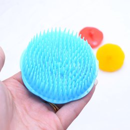Wholesale new fashion Hair Shampoo Exfoliation Scalp Massage Comb Pro Salon Hair Styling Tools Hair Brush Comb Hairbrush