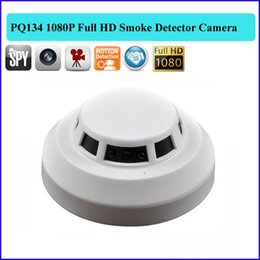 Wholesale Mini Smoke Detector Camera Dvr - HD 1920*1080P Smoke detector spy Camera Remote Control Hidden camera Video Recorder Camcorder Mini DV DVR camera PQ134