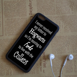 Wholesale Quotes Pink - Harry Potter Twilight Quotes Phone Cases For iPhone 6 6S Plus 7 7 Plus 5 5S 5C SE 4S Back Cover