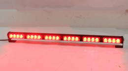 Wholesale Light For Fire Truck - High intensity 38inch 10-30VDC 32W Led strobe warning lights,Led emergency light bar for police ambulance fire truck,waterproof