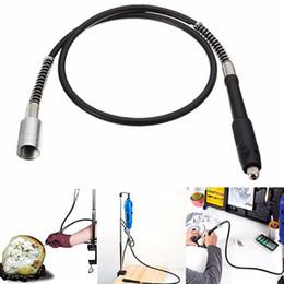 Wholesale Drill Flexible - 106cm Flexible Drill Shaft Extension Keyless Chuck Dremel Compatible Tool Accessory Attachment