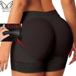 Wholesale Butt Lifting Pants - Wholesale- butt enhancer butt lift shaper hot body butt lifter with tummy control booty lifter panties shapewear underwear slimming pants