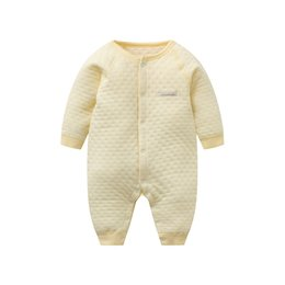 43c2387e0183 2019 0 2T New Born Baby Cotton Rompers Air Layer Plant Dyeing Boy ...