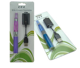 Wholesale Ego Metal Case Packing - Electronic cigarettes EGO -t CE4 blister pack 650 mah 900 mah 1100 mah EGO-T battery blister case Clearomizer E-cigarette