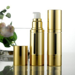 Wholesale Cosmetic Airless Spray Bottles - Portable Empty Perfume Bottles With Spray Elegant Airless Pump Cosmetic Bottle Travel Makeup Atomizer Emulsion bottle For Women F20171154