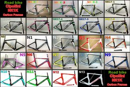 Wholesale Cipollini Bikes - 3K 1K T1000 BB30 BB68 With 23 models Cipollini NK1K carbon road bike frames NK1K road bicycle carbon frames Free shipping