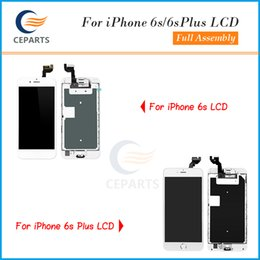 Wholesale Iphone Lcd Button - Top A+++ Quality For iphone 6s 6s plus LCD Display Full Assembly Touch Digitizer Screen Replacement Parts with Home Button + Front Camera
