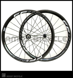 Wholesale Carbon Wheels Ffwd - 38mm Depth 25mm wide carbon wheels with FFWD F4R painting carbon alloy wheels glossy matte bike wheelset clincher Free shippin
