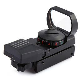 Kırmızı Yeşil Nokta Spotting Kapsam Holografik Elektro Refleks Sight Taktik Kapsam 4 Çeşitli Reticle hafif 1 MM + NB nereden