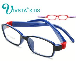 Wholesale Eyewear Children - IVSTA No Screw Unbreakable TR Kids Frames Eyewear Boys Optical Glasses Frame Girls Rubber Soft Flexible for Children myopia 8813