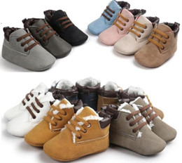 Wholesale Bebe Sizing - wholesale baby boots First walker shoes Hot sale baby snow boots fashion newborn boots Winter babies shoes Winter bebe shoes