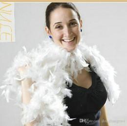2019 boas penas 200 pcs Glam Flapper Dança Fancy Dress Costume Acessório Boa Cachecol Envoltório Burlesque Can Saloon # Z903 desconto boas penas