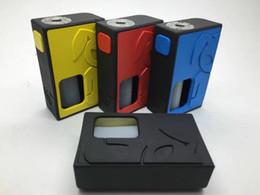 Wholesale Mechanical Mod Electronic Cigarette - Quality Squonk Electronic Cigarette Mechanical Squeeze Box Mod Vaporizer 18650 Battery Vape Mods fit Atomizer Unversial Drips RDA