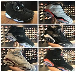 Wholesale Money Split - AAA+ good quality air retro 6 mens Basketball shoes PURE MONEY Heiress Alternate 91 Carmine Black Cat Infrared Hyper Pink size us8-13