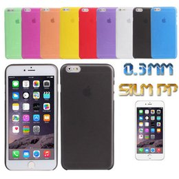 Wholesale Iphone 4s Cases Slim - For iPhone X Ultra Slim Matte Frosted Transparent Clear Flexible Soft PP Cover Case For iPhone X 8 7 Plus 6 6S SE 5S 4 4S Samsung S8 Note 8