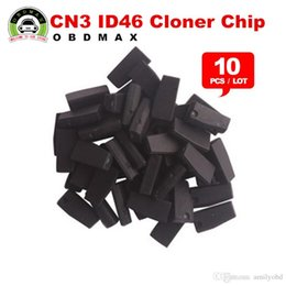 Wholesale Transponder Key Id46 - [10pcs lot] KEY CHIP CN3 TPX3 ID46 (Used for CN900 or ND900 device) CHIP TRANSPONDER