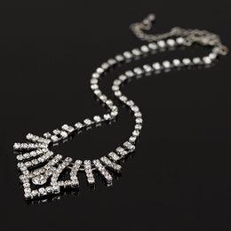 464d0ec0fc54 Las mujeres de moda 2016 han edición de diseño de alta calidad nupcial  cristal collar de diamantes de imitación pendientes joyería regalos