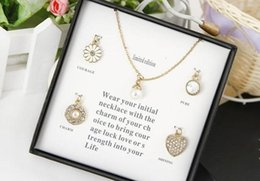 Wholesale Tin Packing Box - Fashion Necklace Set Include 5 Pieces Necklace Packed With Original Boxes Factory Wholesale