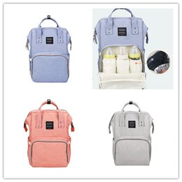 Wholesale Fashionable Backpacks - New mummy bag, multifunctional large size waterproof mummy bag, shoulders backpack, fashionable diaper bag, mother and baby bag