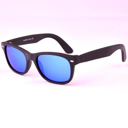 Wholesale New Arrival Mixed Color Fashion - Brand Designer sunglasses for men and women Mirror lens 2017 new arrival fashion plank frame with free accessories free shipping