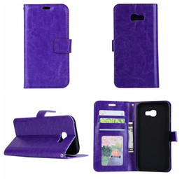 Wholesale Huawei Silicone Case - For Huawei Mate 9,Galaxy A3 2017,A5 2017,J3 2017, Crazy Horse Wallet Leather Holder Luxury Pouch Flip Cover+TPU Fashion Photo Card Case