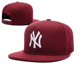 Wholesale New Mlb Hats - 2017 New NY Baseball Caps Hiphop Men Women Adjustable Hats 3D embroidery MLB New York Yankees Snapback Cap Headware