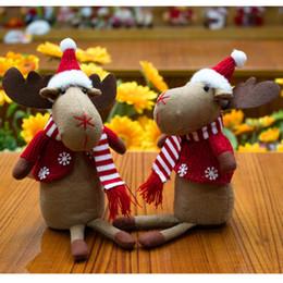 enfeites para decoração Desconto Enfeites de natal, enfeites de Natal decoram produtos exportados para a Europa e os Estados Unidos alce produtos criativos