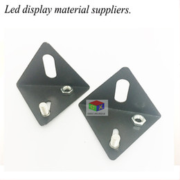 Wholesale Triangle Pendant Lighting - LED signs triangle fixed pendant LED advertising board screen installation accessories rings small pendant led light accessories