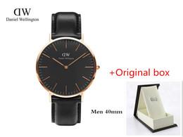 Wholesale Brand New Gps - New Mens watches 40mm , 36 mmWomen Watches Luxury Brand Famous Ultra thin Quartz Watch Female Clock Relogio Montre Femme Clock Male