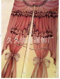 Wholesale Kitty Tights Wholesale - Wholesale- 1 piece 2016 kitty cat curtain digital printing lolita pantyhose tight small Harajuku 155-170 CM height