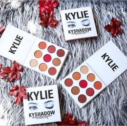 Wholesale Burgundy Metallic - 2017 New Kylie Jenner Newest Kyshadow Palette Burgundy Eyeshadow Of Your Dreams Makeup Eye Shadow ABHPIgment Glow Kit Free shipping