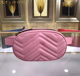 Wholesale Pink White Evening Bag - new women belt bag famous designer big wallet high quality lady evening clutch with long strap 245