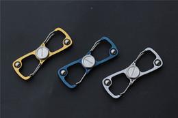 Livraison gratuite, 8 clip doigt spinner avec roulement à billes 420 poignée en acier extérieure outil EDC ? partir de fabricateur