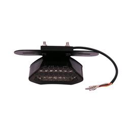 Wholesale tail light motor - Motor LED Quad ATV Tail Turn Signal Stoplight Stoplamp for All Harley Series