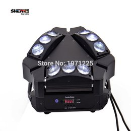 Wholesale Moving Head Light Rgbw Cree - Wholesale- mini New Arrival CREE MINI LED 9x10W Led Spider Light RGBW 9 43CH DMX Stage Lights Dj Led Spider Moving Head Beam Light